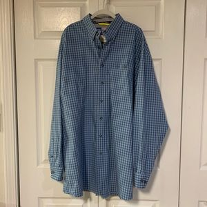 George Strait Wrangler Plaid Button Down